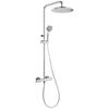 Душевая система с термостатом и тропическим душем для ванны BLAUTHERM 944802RM250 - фото №1