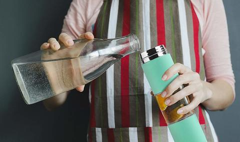 Бутылка Asobu Flavor U See (0,46 литра), мятная