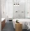 Напольный смеситель для ванны с душевым комплектом DRAKO 338503MO - фото №2