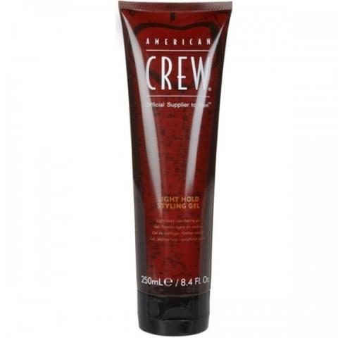 Гель для укладки волос слабой фиксации American Crew Light Hold Gel Tube 250 мл