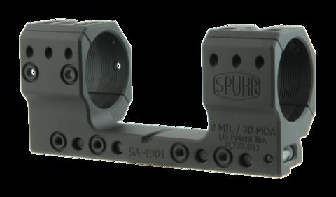 Тактический кронштейн SPUHR D34мм на 12mm (Accuracy), H35мм, наклон 9MIL/ 30.9MOA (SA-4901)