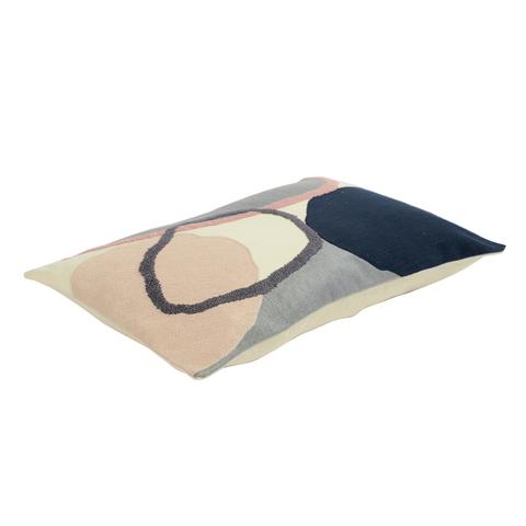 Подушка декоративная с дизайнерским орнаментом из коллекции Ethnic, 30х50 см
