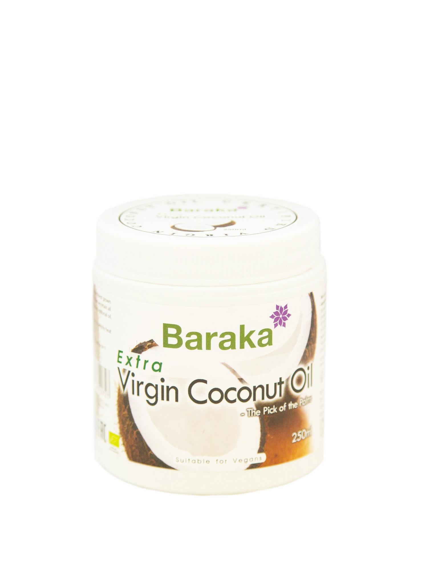 Кокосовое масло Вирджин Барака, 250 мл