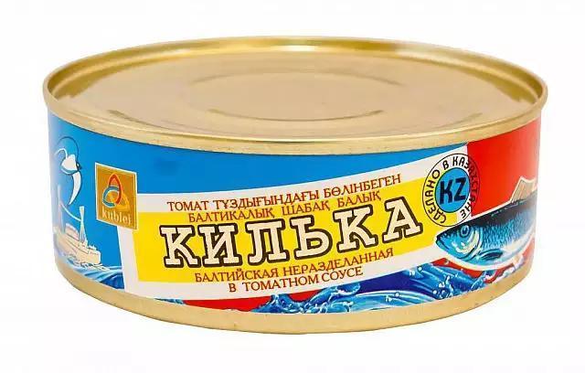 Килька в томатном соусе 240 гр