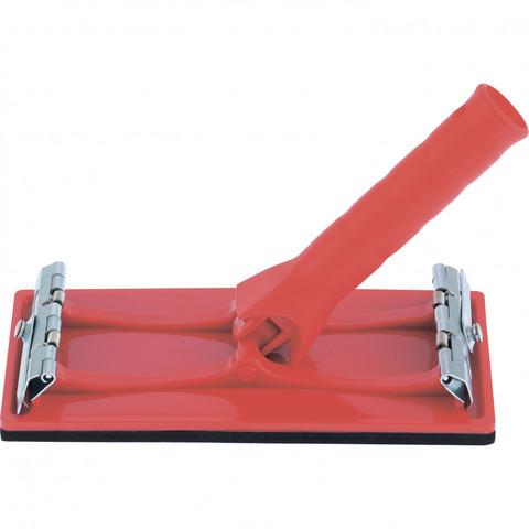 Брусок для шлифования 105 х 210 мм, с шарнирным переходником под телескопическую ручку Mtx