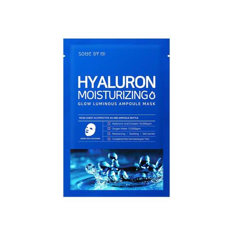 Some By Mi Маска тканевая увлажняющая Hyaluron Moisturizing Glow Luminous Ampoule Mask