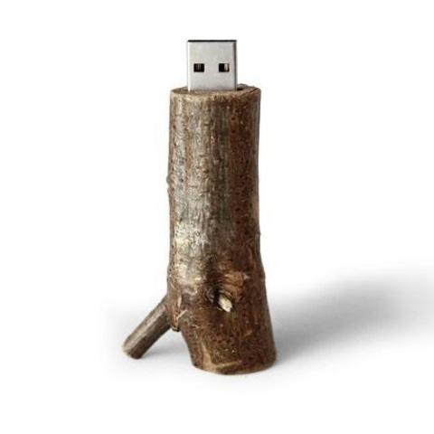 usb-флешка сучок дерева