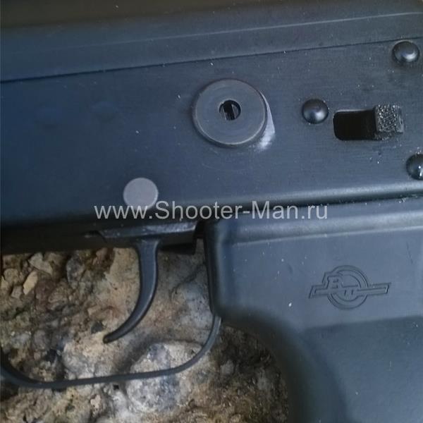 Заглушка левого рычага предохранителя ВПО-205 Вепрь 12 Red Force