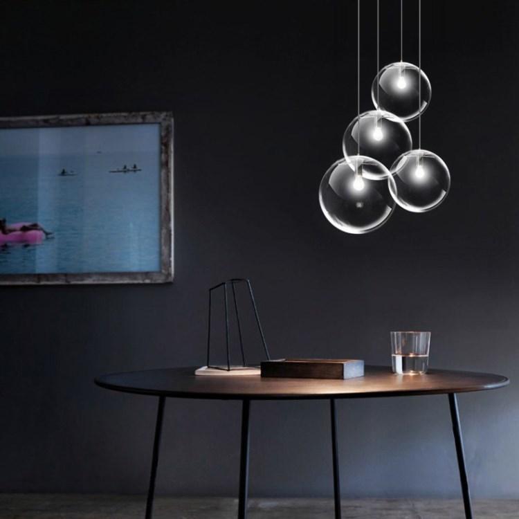 Подвесной светильник копия SELENE by ClassiCon D20 (черный)