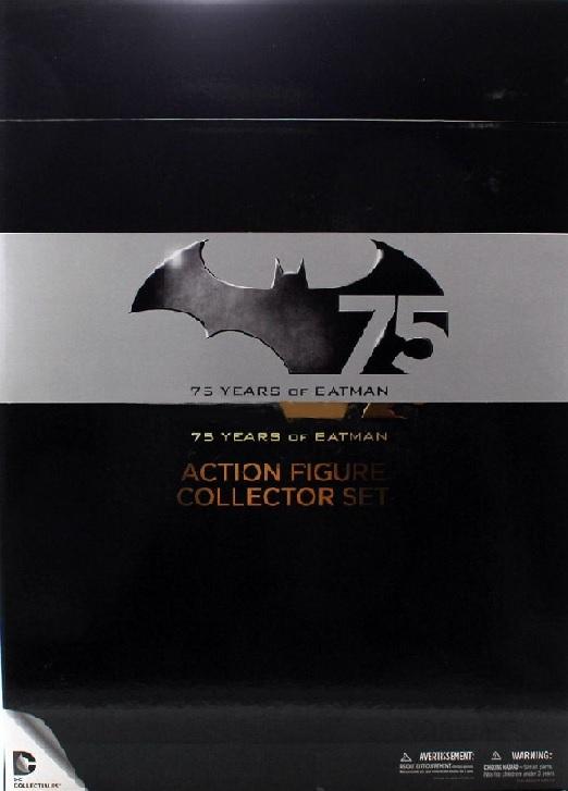 Batman 75th Anniversary 4-Pack Set 2 Action Figure
