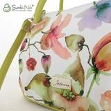 Сумка Саломея 278 цветы + лайм