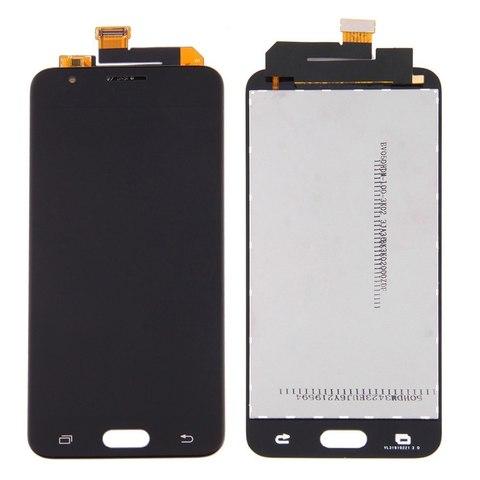 LCD SAMSUNG J5 Prime G570 + Touch Black Orig MOQ:5
