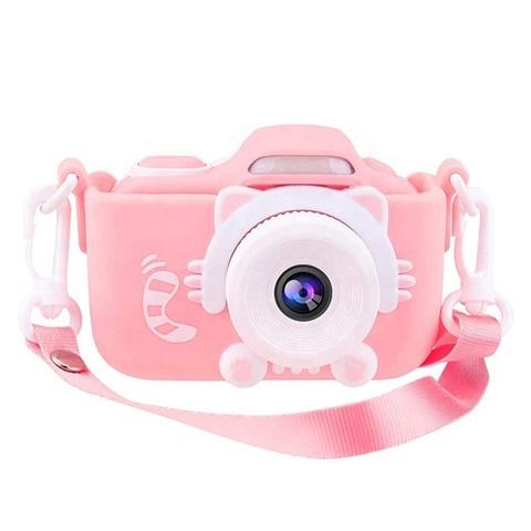 Фотоаппарат детский со вспышкой SmileZoom Кот 32 Мп с Wi-Fi