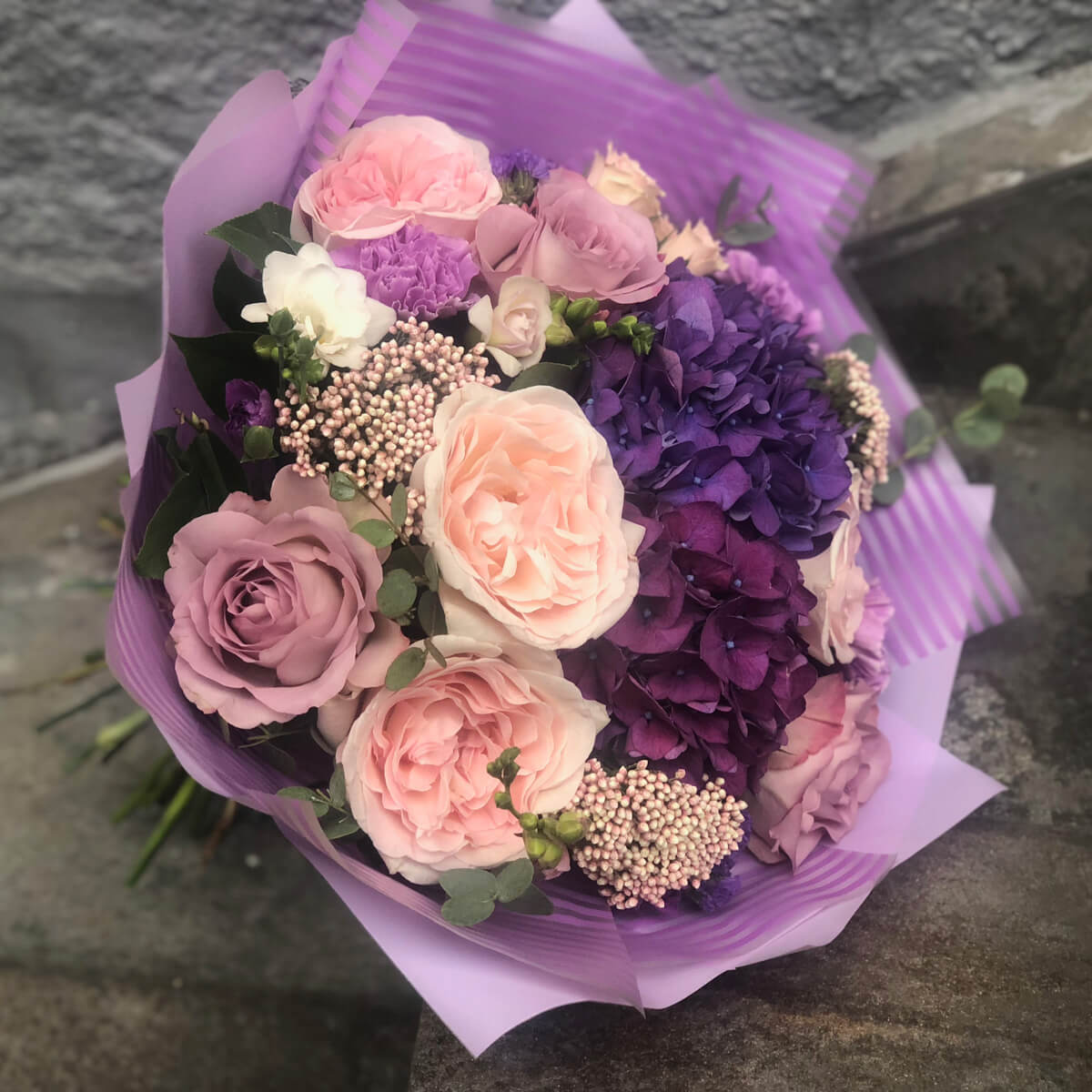 Букет цветов 301