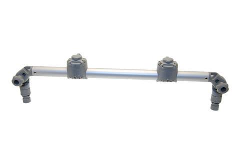 Тарга с двумя замками Gr610-2, 610 мм, серая