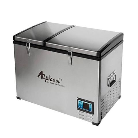 Компрессорный автохолодильник Alpicool BCD100 (Двухкамерный, 12V/24V/220V, 100л)