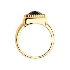 716143 - Кольцо из золота с агатом