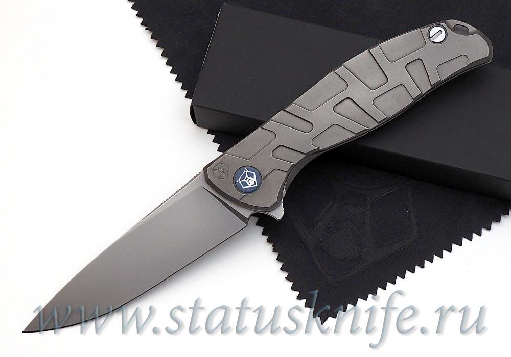 Нож Широгоров Flipper 95 S30V FS Т узор  подшипники