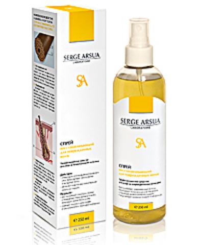 Спрей Восстанавливающий для поврежденных волос 250 мл НИИ Натуротерапии ТМ Serge Arsua
