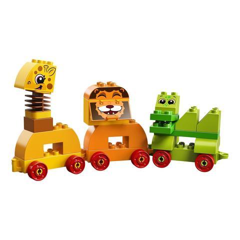 LEGO Duplo: Мой первый парад животных 10863 — My First Animal Brick Box — Лего Дупло