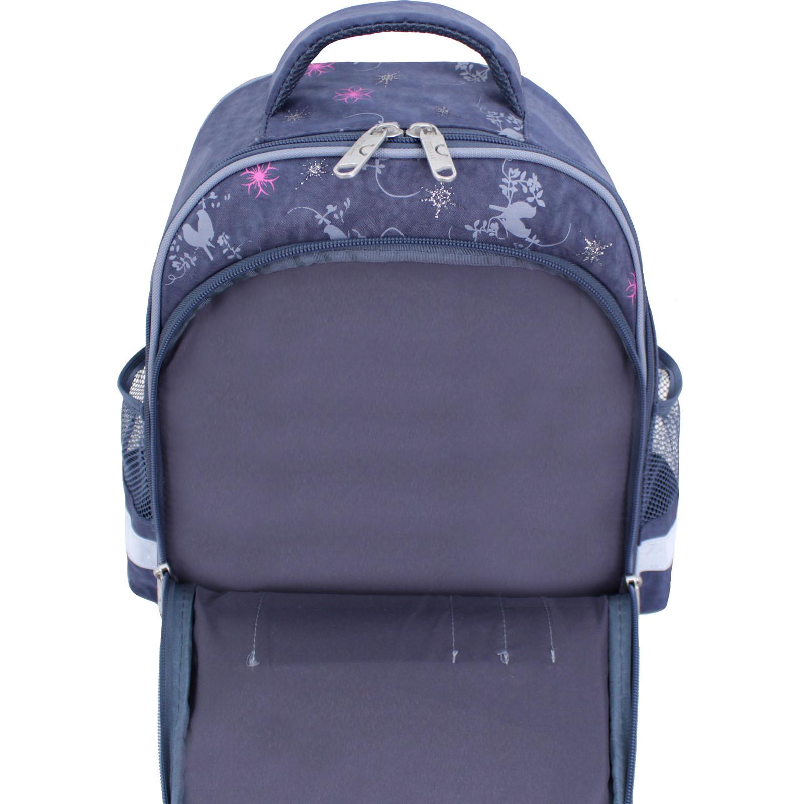 Рюкзак школьный Bagland Mouse 321 серый 210к (0051370) фото 5
