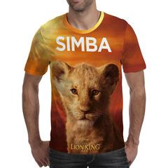 Футболка 3D принт, Король Лев (3Д The Lion King) Симба / Simba 02
