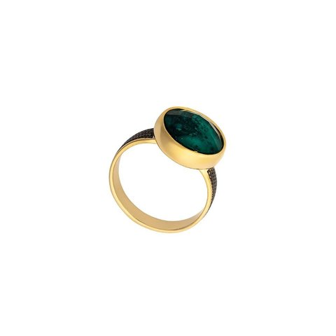 Кольцо Emerald 18.5 K4952.17/18.5 G/G