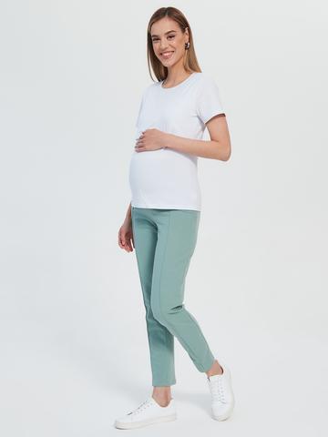 Брюки для беременных Chic mama Зеленый гранит