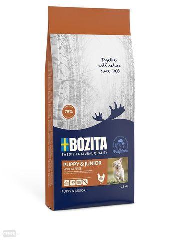 Bozita Puppy & Junior Wheat Free 25/13 Сухой корм для щенков, беременных и кормящих сук с чувствительным пищеварением (Без пшеницы)