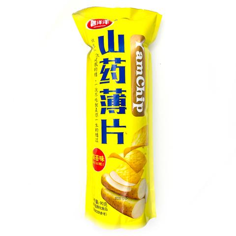 Чипсы из ямса YamChip Shuyangyang острые со вкусом морской капусты 90 гр