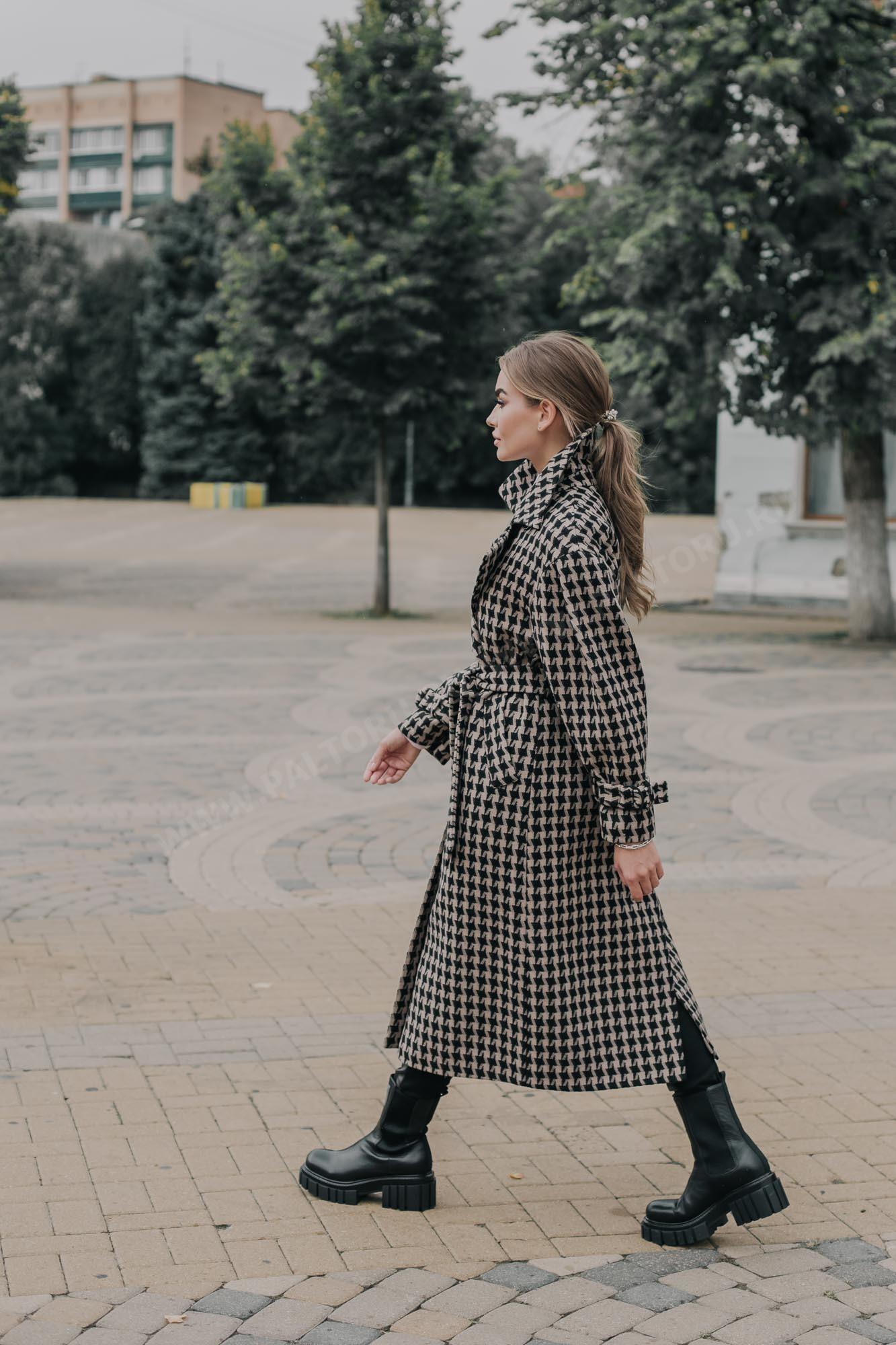 Пальто женское тренч