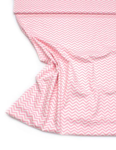 Зигзаг Мелкий розовый