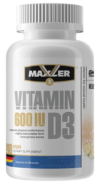 Vitamin D3 (240 таб.) (Maxler)