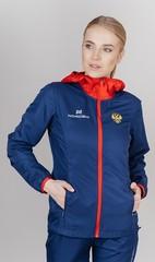 Беговая ветровка  с капюшоном Nordski Run Patriot W женская