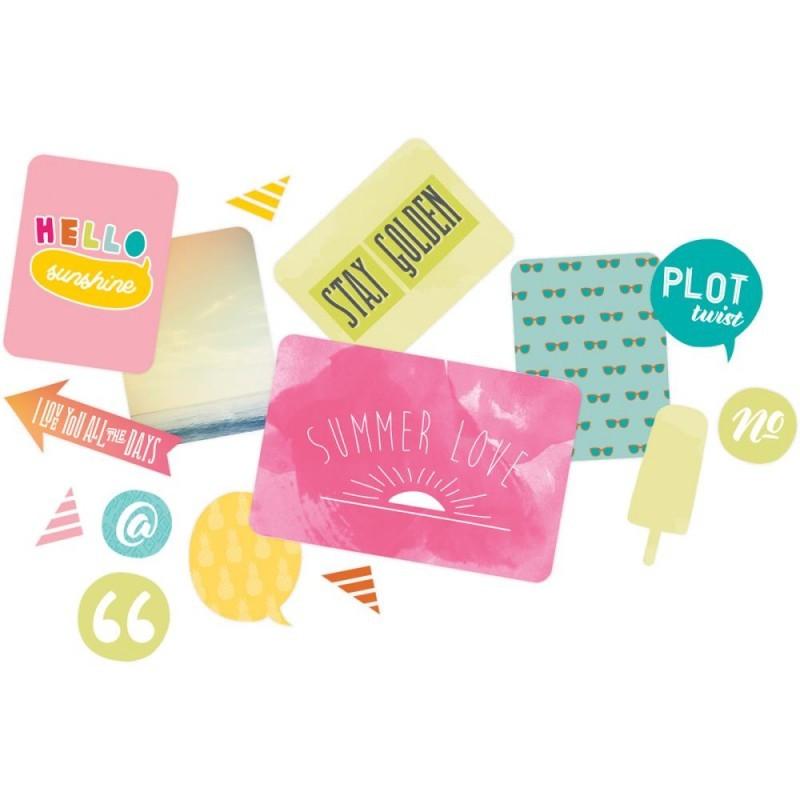 Kit набор карточек и украшений для Project Life 160шт