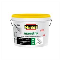Грунт фасадный для фасада Marshall MAESTRO (Белый)