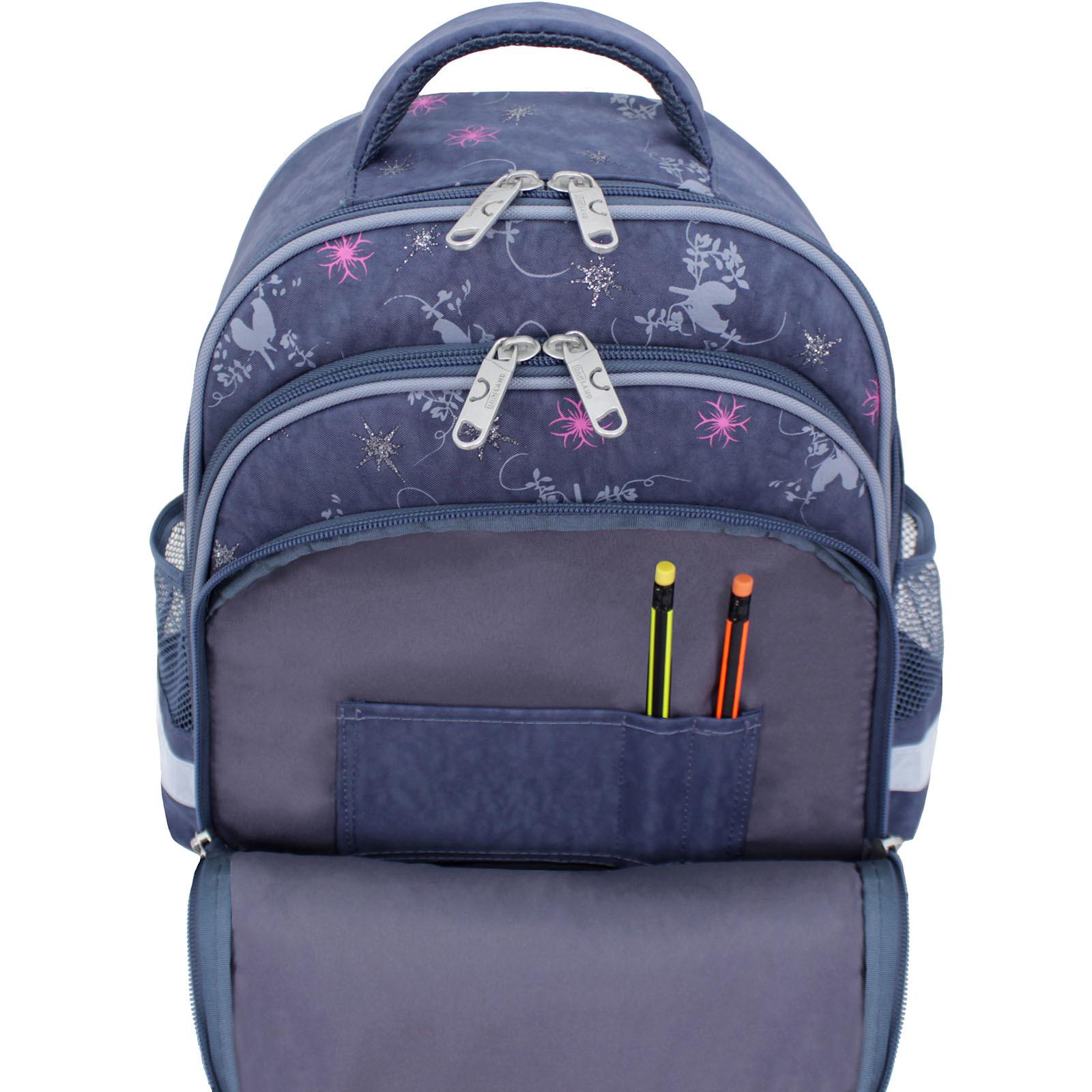Рюкзак школьный Bagland Mouse 321 серый 210к (0051370) фото 6