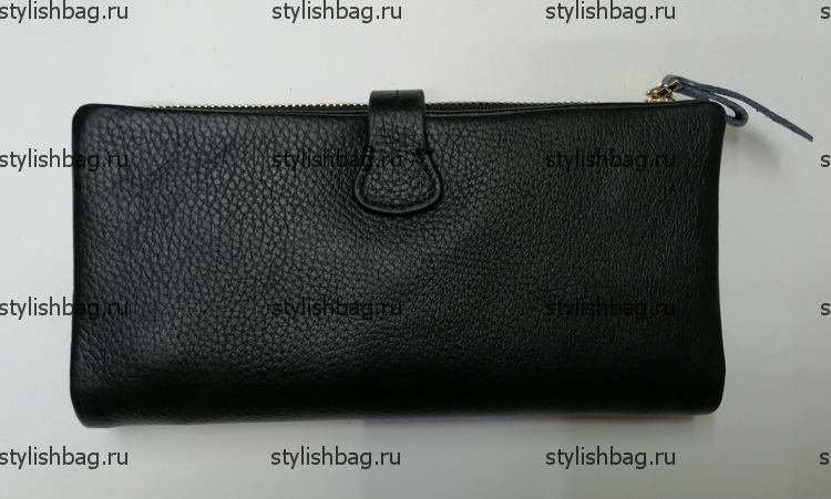 Женский кошелек из кожи JCCS j-1013-2black