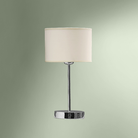 Настольная лампа с абажуром 180-502/13751М ЛИДЕР