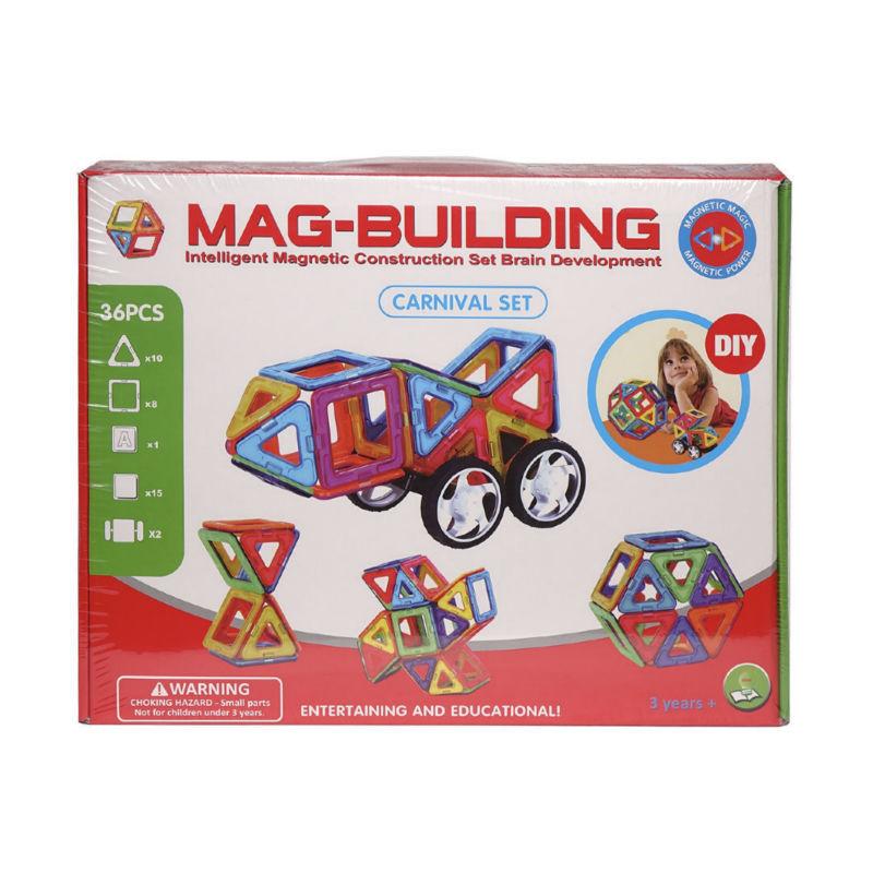 Детские конструкторы Детский магнитный конструктор Mag Building (36 деталей) detskiy-magnitnyy-konstruktor-mag-building-.jpg