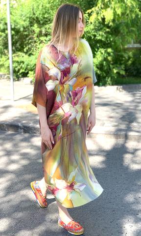 Шелковое платье Лилии