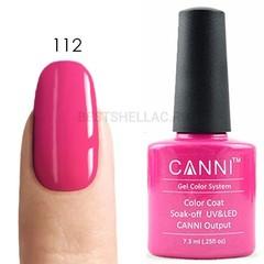 Canni, Гель-лак № 112, 7,3 мл