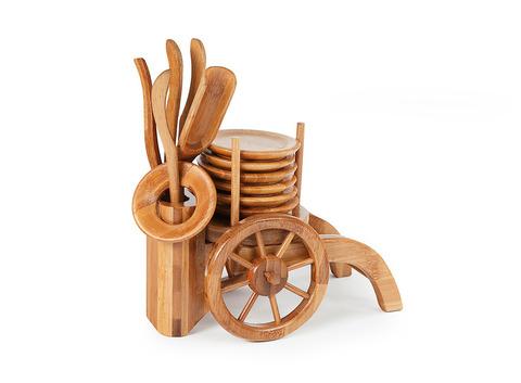 Инструменты для чайной церемонии из бамбука