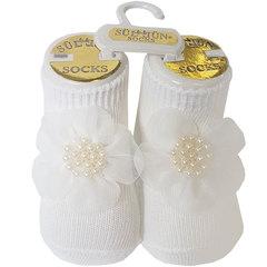 Носки для девочки, р. 0, экрю