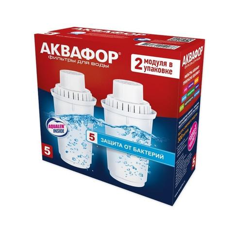 Картридж-фильтр Аквафор В5 2 штуки в упаковке