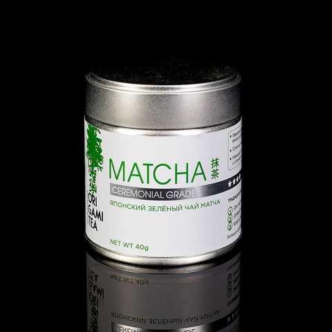 Японский чай Матча ceremonial grade, 40 гр.