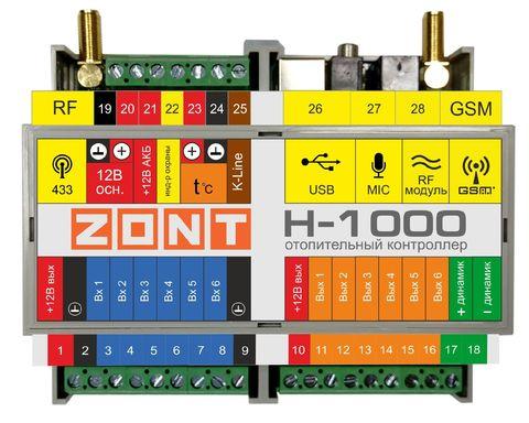 Универсальный контроллер  ZONT H-1000