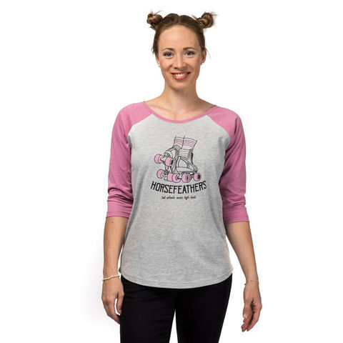 Футболка 3/4 жен Horsefeathers POLLY T-SHIRT (ash)