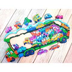 Пазл Автовоз ToySib 01088