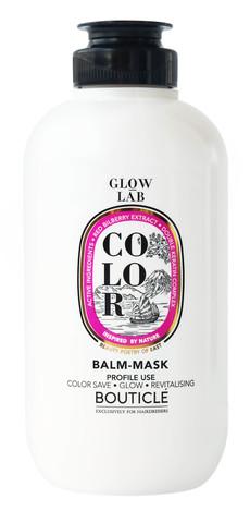 Бальзам-маска для окрашенных волос с экстрактом брусники - Bouticle Glow Lab Color Balm-Mask Double Keratin 250 мл